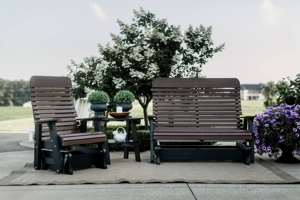 Signature Series Gliders by Wildridge Outdoor Poly Furniture