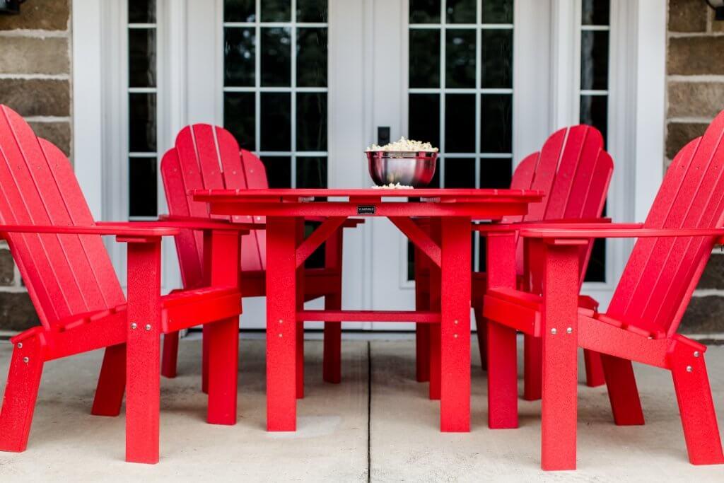 Wildridge LLC 280 46in Round Table poly table